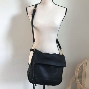 Vince Camuto leather crossbody bag.